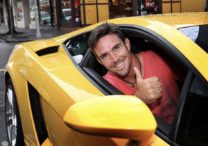 Successful Forex Trader in Lamborghini