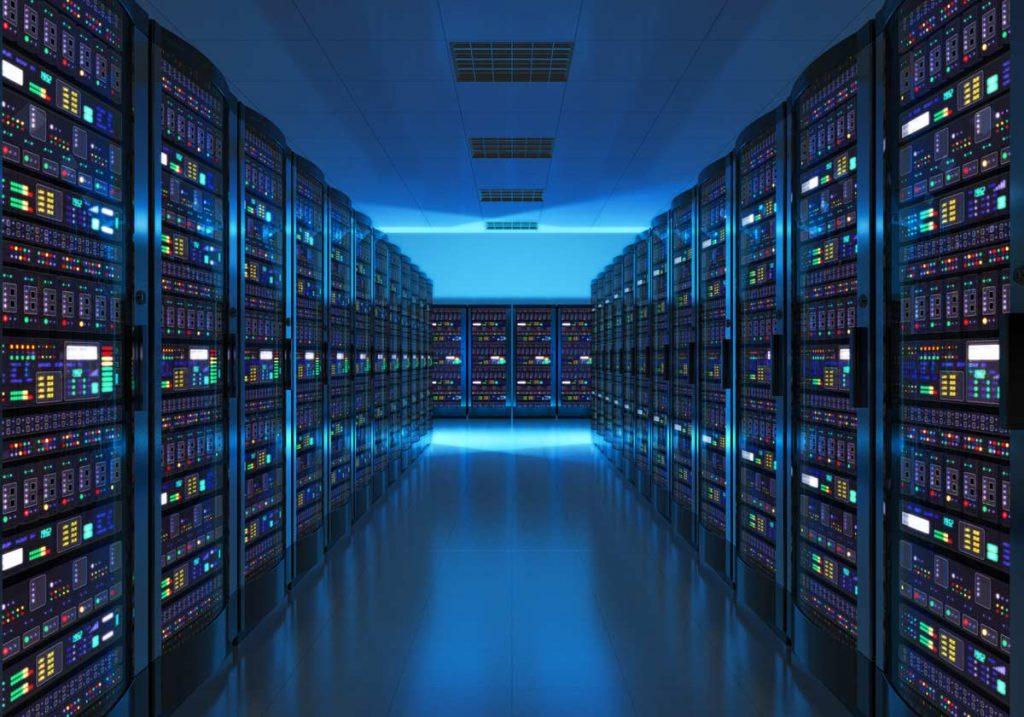 server room, data center